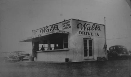 On The Same Spot Where Winchester Cafe Stands Today Walt S Drive In Was A Busy Place Perhaps You Have Vague Memory Of Having Hot Dogilk